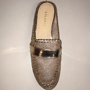 2 for $20 3 for $25 Liliana Mesh Metallic Flat